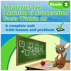 Strategies for Addition & Subtraction Facts Within 18 - gr