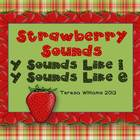 Strawberry Sounds Y Sounds Like i, Y sounds Like e