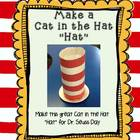 Striped Tall Silly Hat Directions FREE