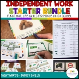 Structured Work System Secondary Starter Bundle: Life Skil
