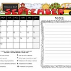 Student Behavior Calendar August 2013 - July 2014