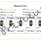 Student Behavior Form