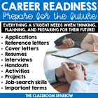 Student Career/Job BUNDLE (application, resume, cover lett