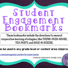 Student Engagement Bookmarks