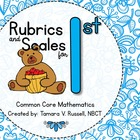 Student Friendly Scale & Rubric for First Grade Mathematic