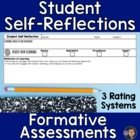 Student Self-Assessment: I Can Statements