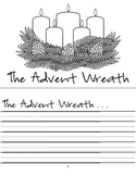 Student Writing Booklet - Advent Wreath