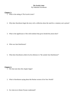 The Scarlet Letter Literary Analysis Literary Analysis Research Paper ...