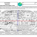 Power Point Lesson on Latitude and Longitude-The World-Stu