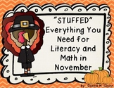 """""""Stuffed"""" Everything You Need for Literacy and Math in November"""