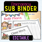 Sub Plan Resource
