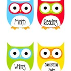 Subject Headers - Owls