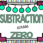 Subtraction Across Zero Word Problems