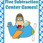 Subtraction Centers Planes Theme - Five Different Strategies