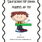 Subtraction Flip Book