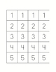 Subtraction Game - 3 Game Boards