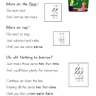 Subtraction Poem Poster {Steps for Regrouping}