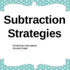 Subtraction Strategies Power Point Presentation