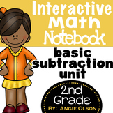 Subtraction Unit:  Interactive Notebook Pages
