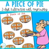 Subtraction game - 3 digit subtraction with regrouping