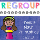 Subtraction with Regrouping Freebie