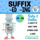 "Suffix  ""-ing"", ""-ed""  Nuts and Bolts, A Variety of Robot"