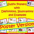 Suffix Posters for Bulletin Boards and Walls