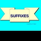 Suffixes Power Point Presentation