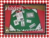 Suitcase for Holidays Around the World