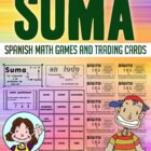 Suma - Tarjetas De Intercambio - Math Games and Lesson Plans