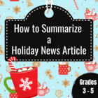 Summarizing a Christmas News Article