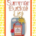Summer Bucket List and Calendar