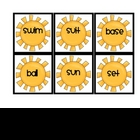 Summer Compound Word Match