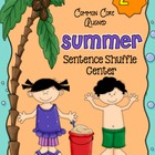 Summer Fluency Center: Sentence Shuffle -2nd grade reading level