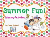 Summer Fun Literacy Activities