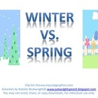 Winter Vs. Spring - Freebie