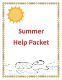 Summer Help Packet