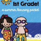 Summer Homework Pack for Rising First Graders (who have co
