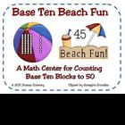 Summer Math Center - Base Ten Beach Fun