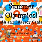 Summer Olympics! Literacy and Math Centers