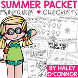 Summer Practice Packet {No Prep Printables}
