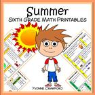 Summer Quick Common Core (sixth grade)