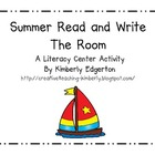 Summer Read and Write the Room