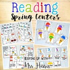 Summer Reading Literacy Centers Set