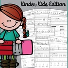 Summer Review for Kinder Kids {Language Arts and Math}
