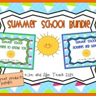 Summer School Bundle