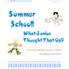 Summer School! What Genius Thought That Up? Hank Zipzer: G