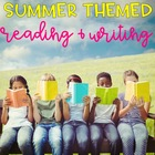 Summer Themed Reading and Writing Review