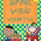 Summer Words Writing Pack!