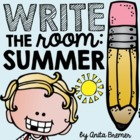Summer Write The Room Pack